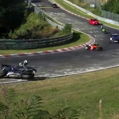 Oil Spills, The Most Dangerous and Feared Situation at the Nürburgring Nordschleife