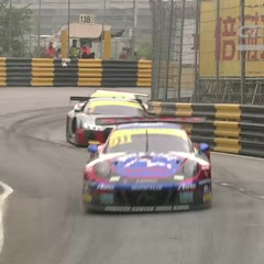 2017 FIA GT World Cup at Macau Qualification Race Huge PileUp