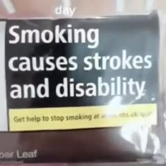 Laugh at your cigarette pack