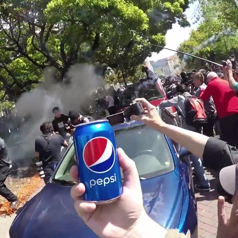 Berkeley Protesters Take the Pepsi Challenge
