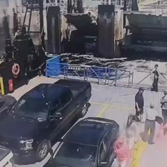 Fatal Crash of RV Flying onto a Ferry Boat