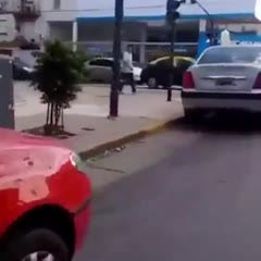 In Argentina, people park as they want...