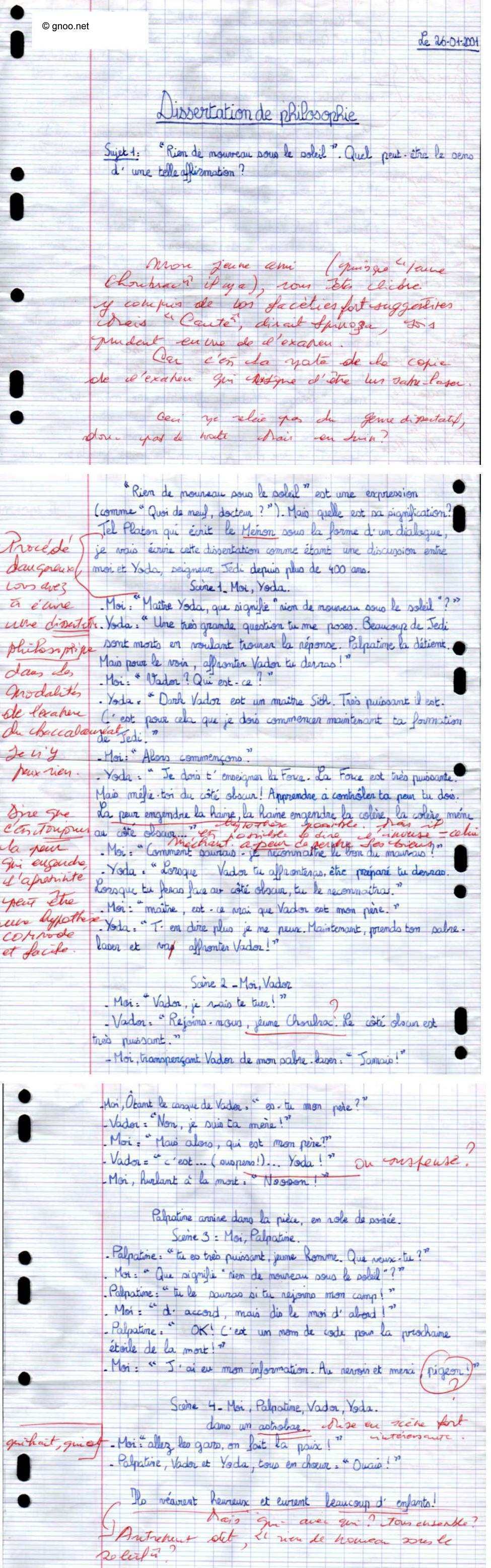 Dissertation dialectique intro